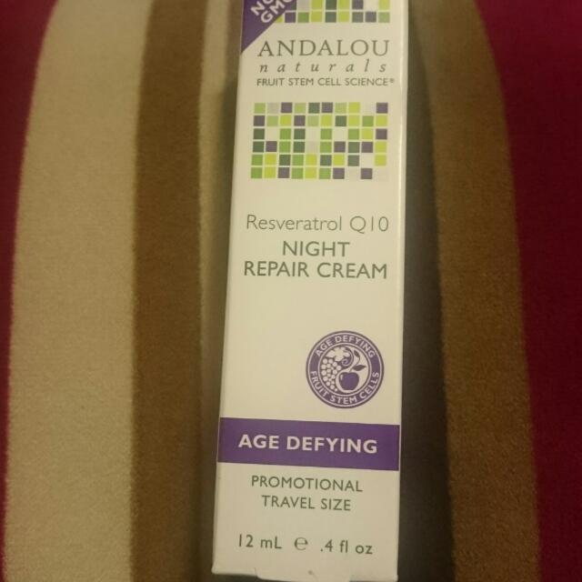 Andalou Naturals - Resveratril Q10 Night Repair Cream