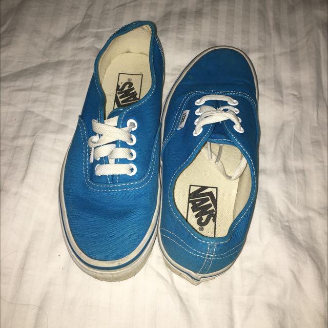 Aqua Vans