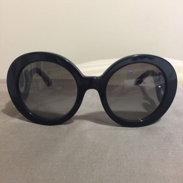 Authentic PRADA baroque Style Sunglasses