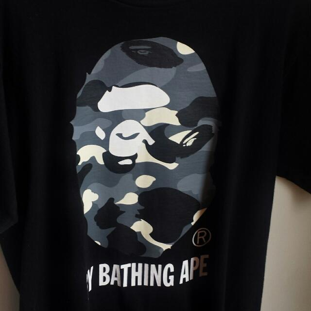 BAPE glow In The Dark Tee