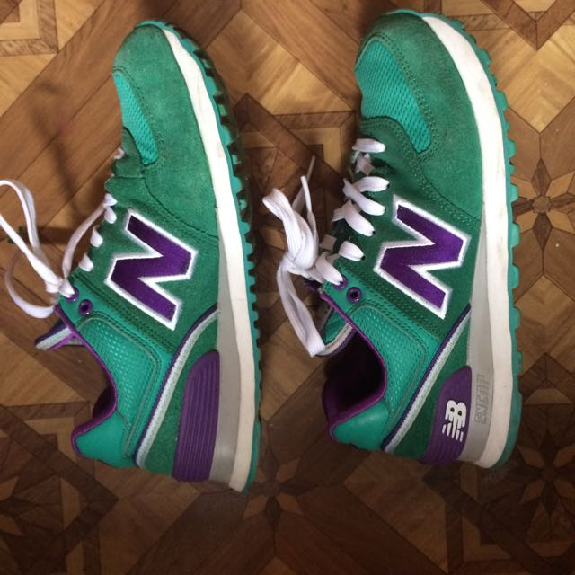 New Balance 530 Encap Suede Green-Violet