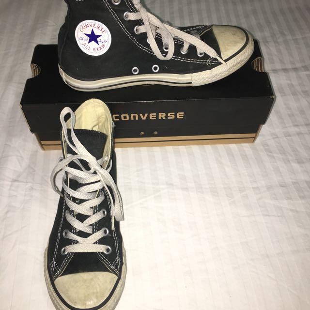 Black & White Converse: Chuck Taylor