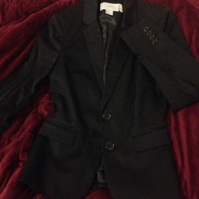 BNWOT Black Blazer XS