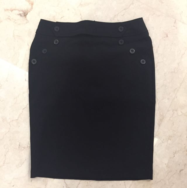 New Glassons black skirt with tag size 8/S