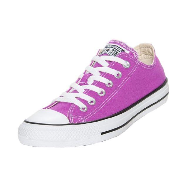 Bright Purple Converse, Women's Fashion