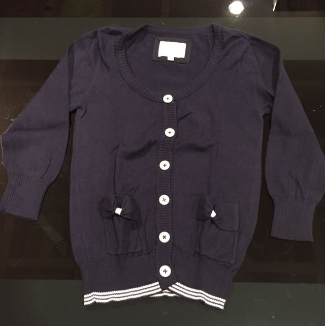 Cardigan colorbox navy blue M