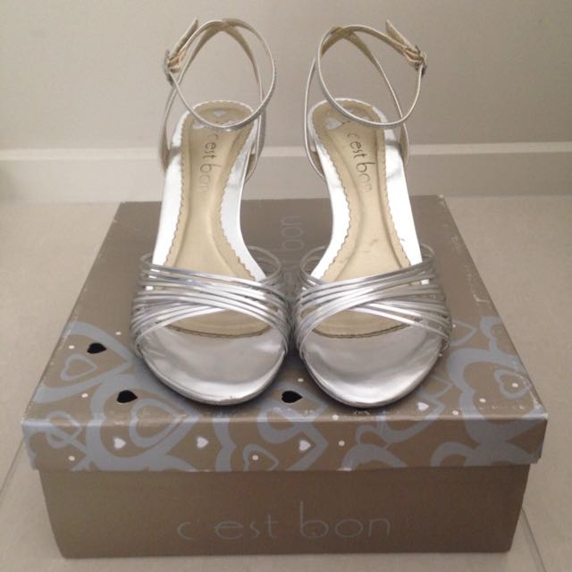 C'est Bon Silver Heels - 6