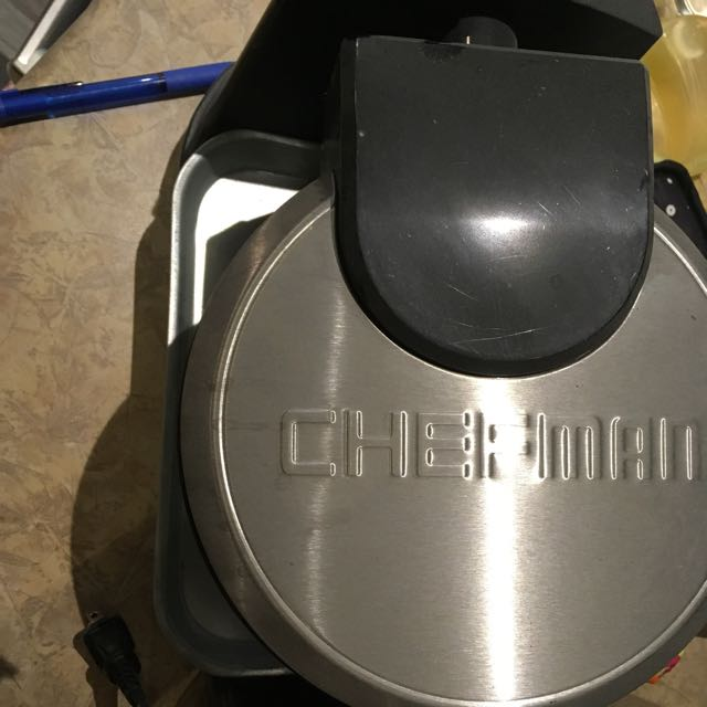 Chef man Waffle Maker Used Once