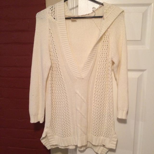 Cream White Sweater