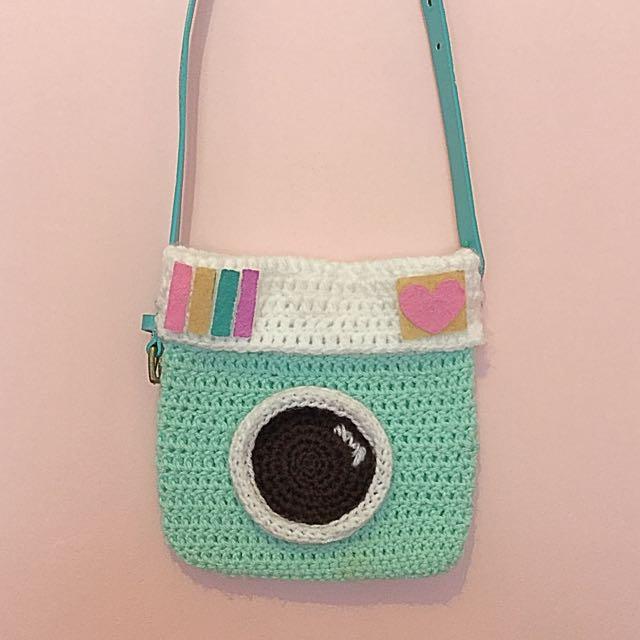 Crochet Instagram Bag