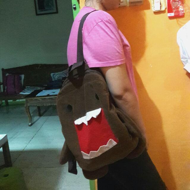 (Free Ongkir) Domo Ransel Bag