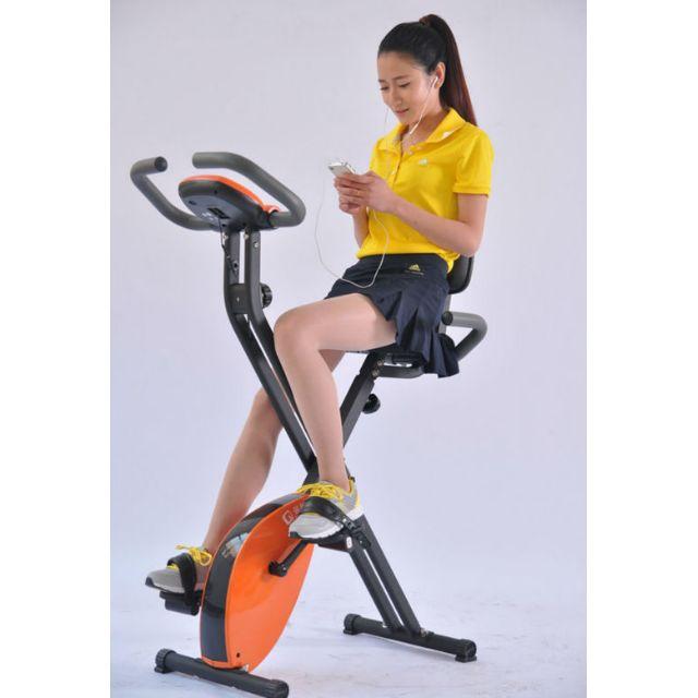 Exider Bike Sepeda Olahraga Magnetic Statis Dengan Sandaran Murah Alat Olahraga Lejel