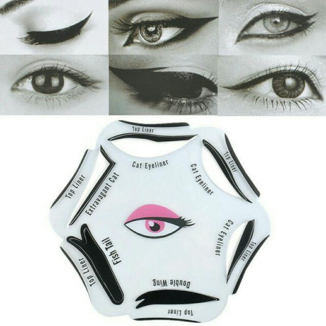 Eyeliner Cat Eye Template ( alat make up )