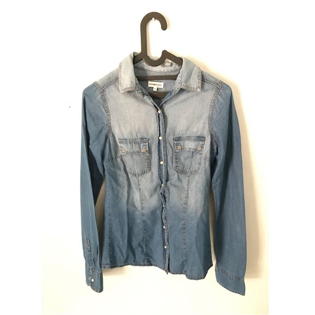 Faded Jeans Shirt