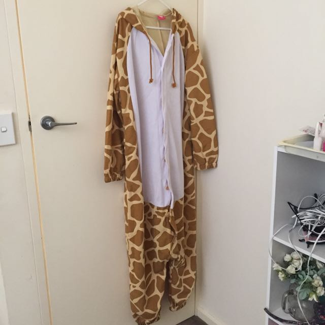 giraffe Onesie Party Pajama