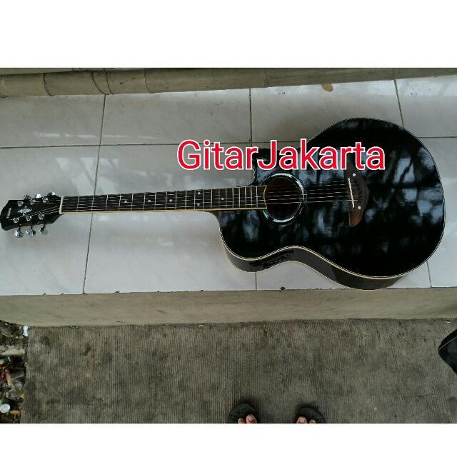 Gitar Akustik Elektrik Tipe Apx500ii Hitam Murah Jakarta Musik Media Alat Di Carousell
