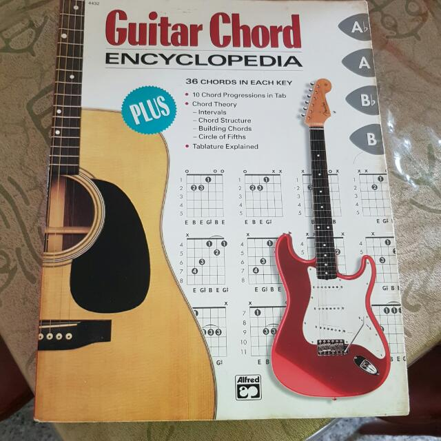 Guitar Chord Encyclopedia , Books & Stationery, Fiction on Carousell
