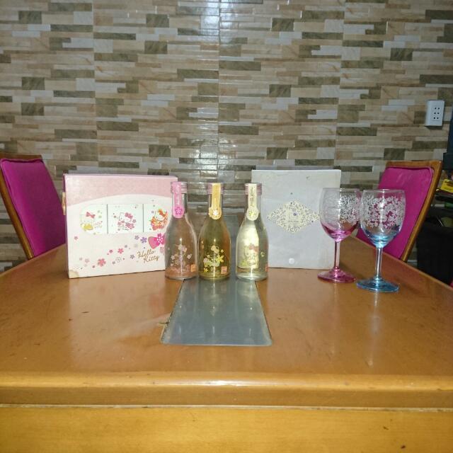 Hello Kitty WINE n GLASS