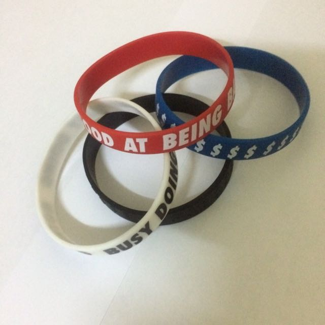 H&M Original Men Rubber Bracelet