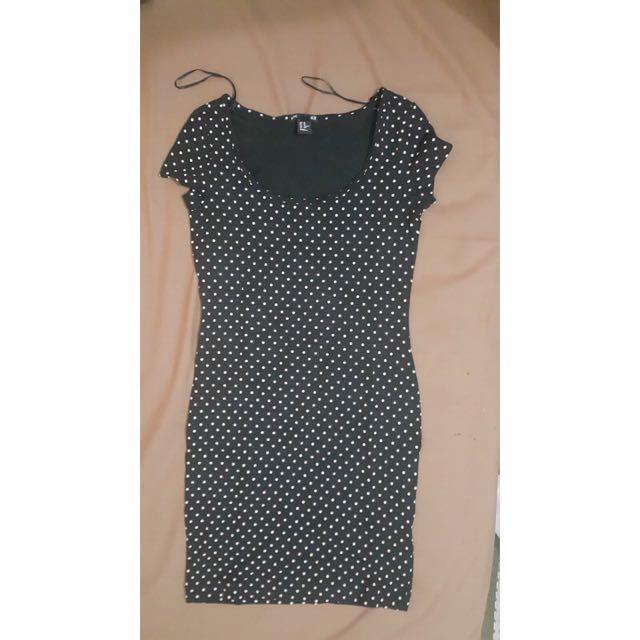 H&M Mini Dress (polkadot)