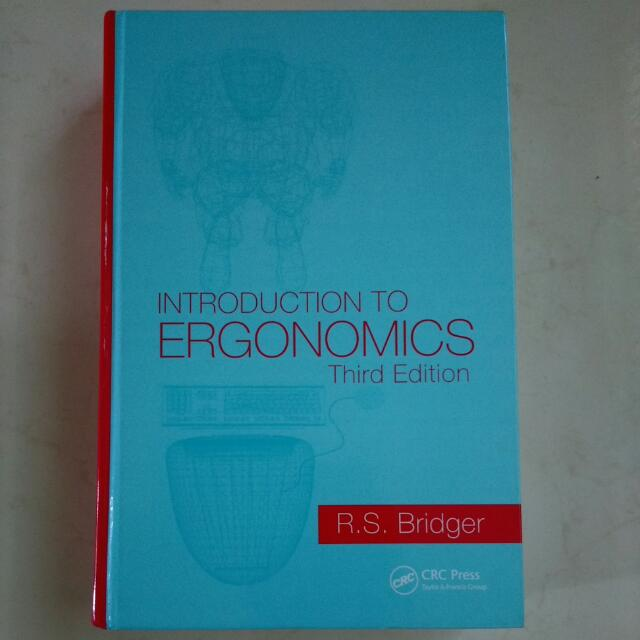 人因工程Introduction to Ergonomics (Third Edition )#教科書出清