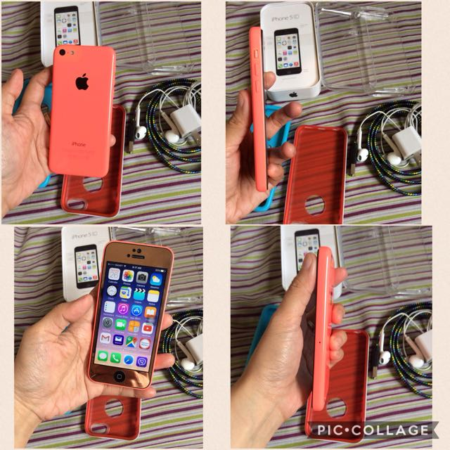 Iphone 5c 32gb LTE 4g Pwede Negotiable