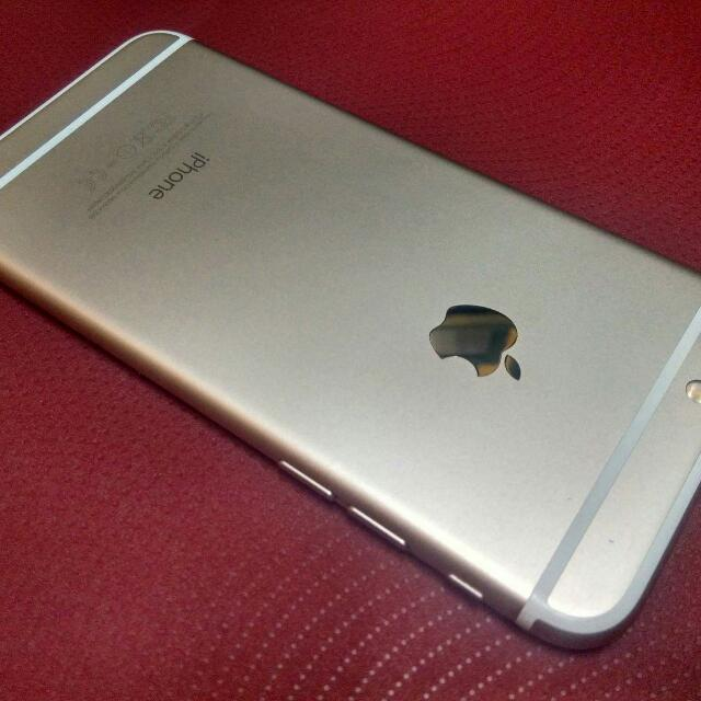 iPhone 6 Gold Globe Locked