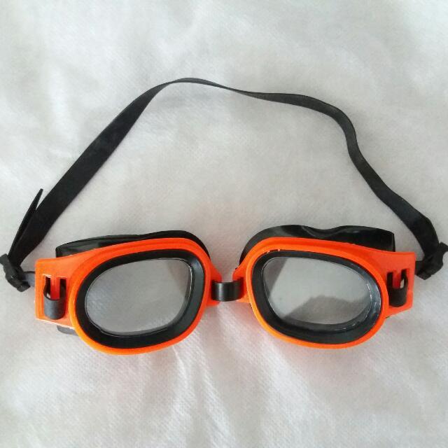 Kacamata Renang Orange