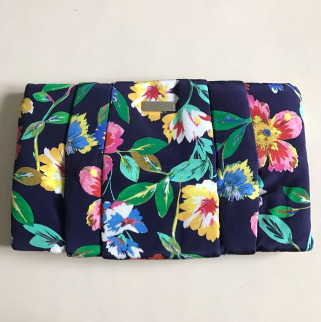 Kate Spade Floral Clutch