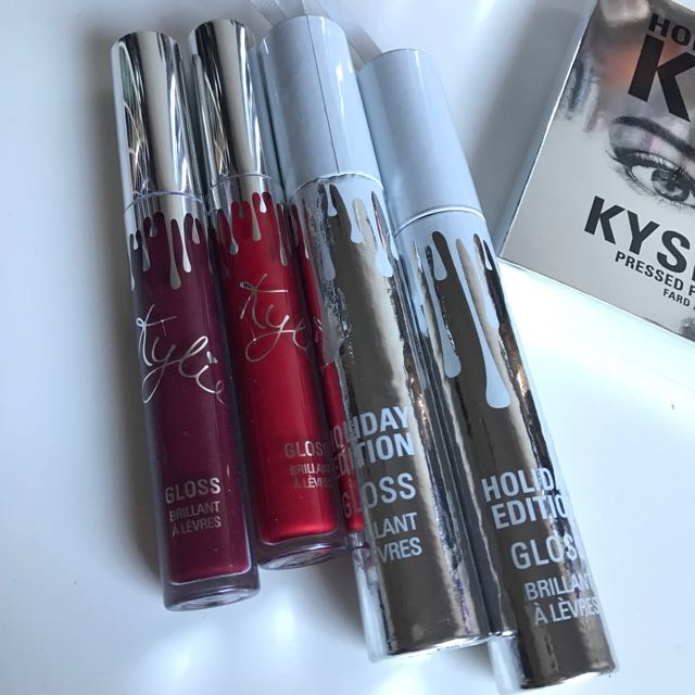 Kylie Cosmetics HOLIDAY EDITION GLOSSES