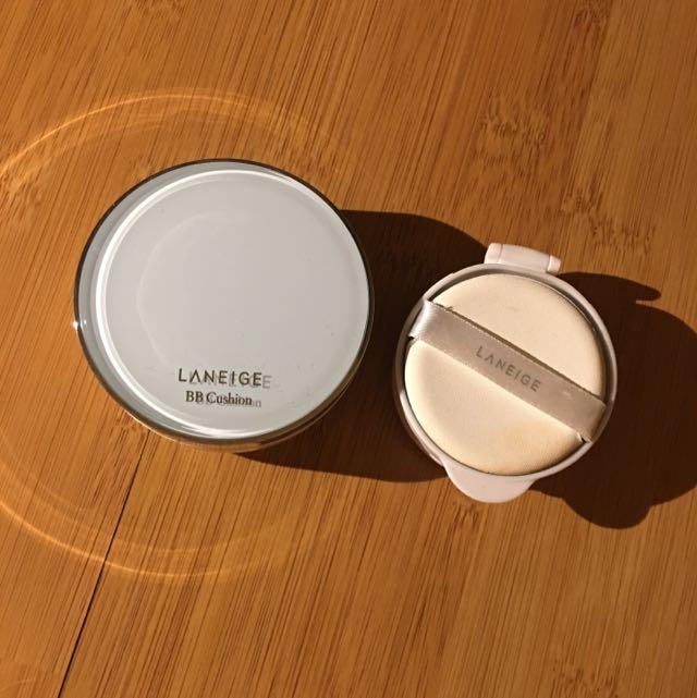 laneige pore control bb cushion preloved