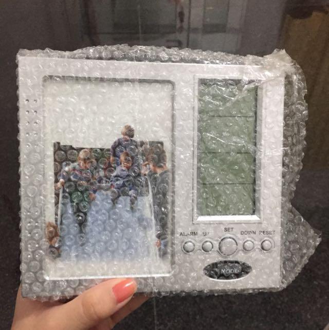 LCD相框時鐘
