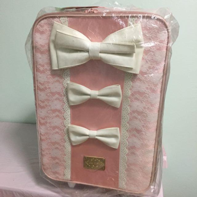 Liz Lisa Princess Ribbon Carry Luggage