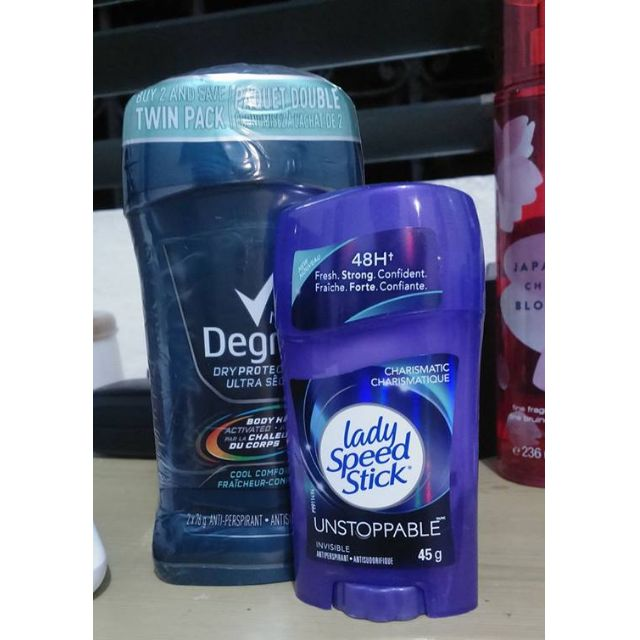 Lot of stick deodorant for Men and Women