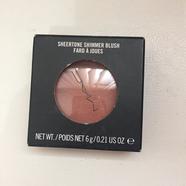 MAC Sheertone Shimmer Blush in Peachtwist