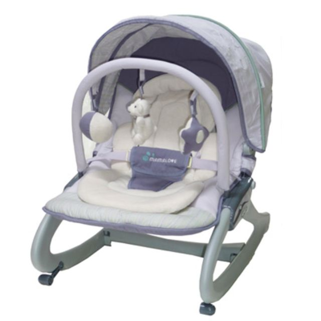 Mama Love Rocking/Vibrating Baby Bouncer Rocking Chair UC40, Babies & Kids, Strollers, Bags & Carriers on Carousell