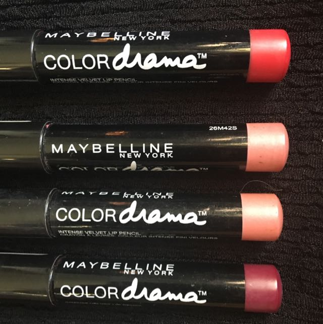 MAYBELLINE Colour Drama Lipsticks: $10 Each!!