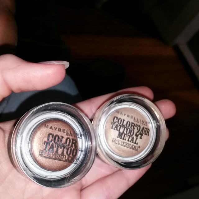 Maybelline colour Tattoo Metal Eyeshadow Set