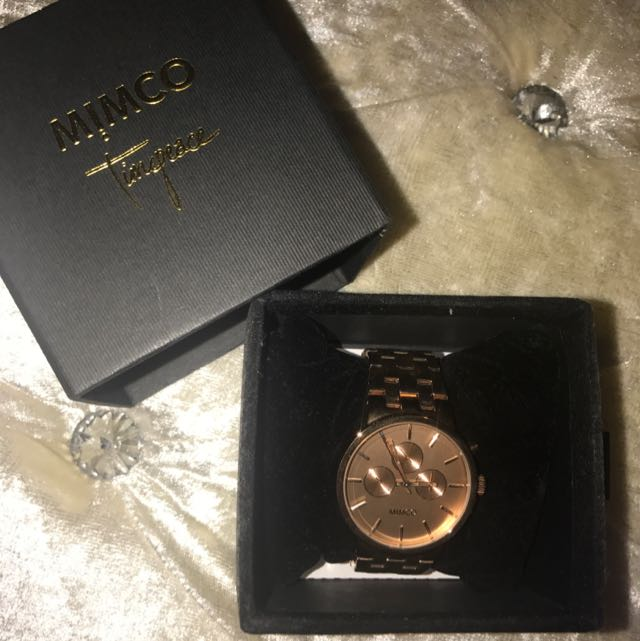 Mimco Watch - Rose Gold NEW