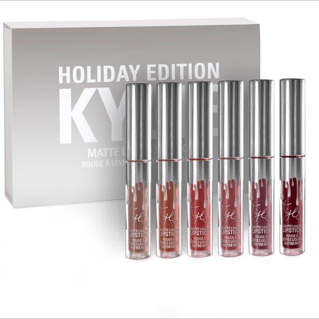 Ready! Mini Lip Kit Kylie Holiday Edition