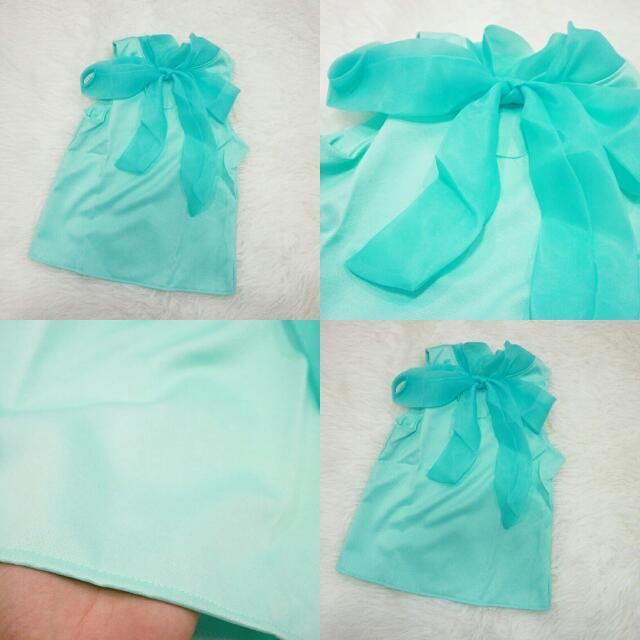 Minty Blue Top