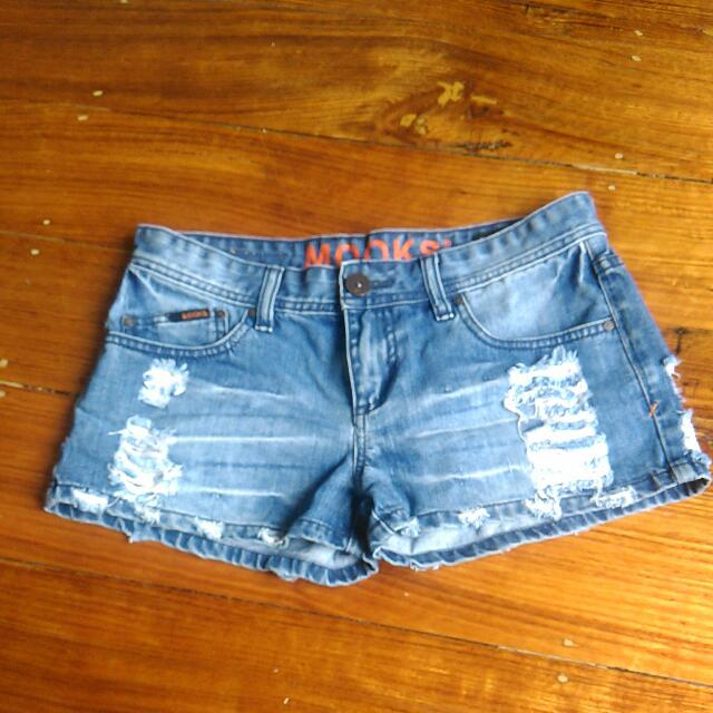 REDUCED Mooks Denim Shorts