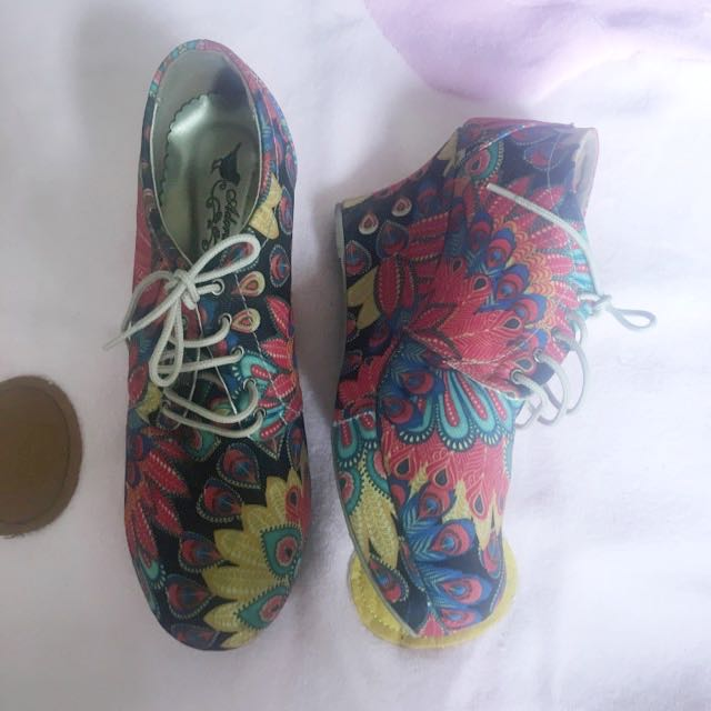 NEGO sepatu Semi Boot Handmade