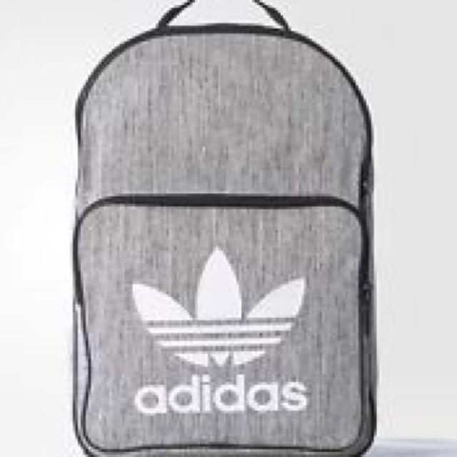 b8c21ce24a New Adidas Casual Backpack Sports Training School Unisex Bag in Grey ...