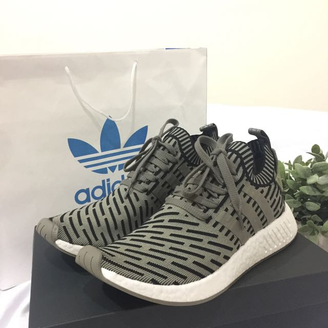 (NEW) Adidas NMD R2 PK Men size 44 2/3