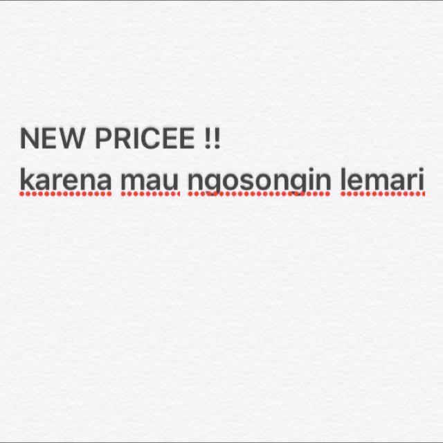 NEW PRICE !