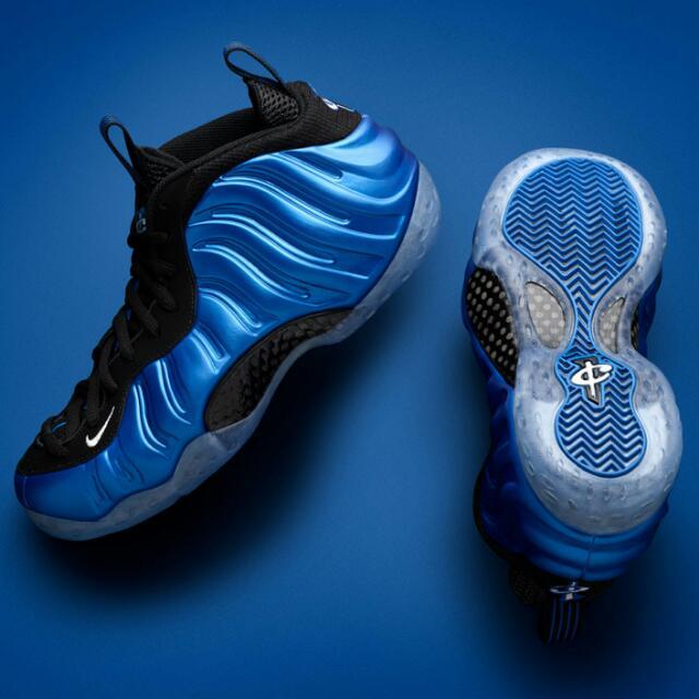 Nike Foamposite XX Royal Blue UK9.5 20th Anniversary