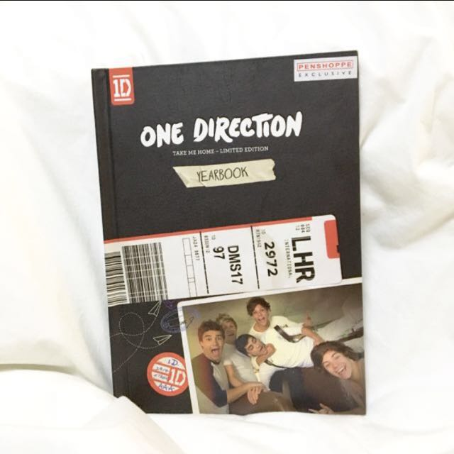 One Direction Take Me Home Yearbook Edition