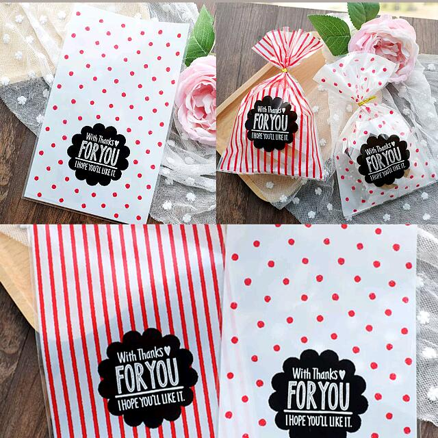 Large Size Big Party Gift Bag Cookie Cellophane Birthday Door
