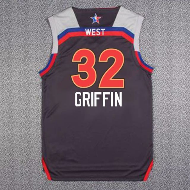 PO  NBA All Star Los Angeles Clippers Blake Griffin Swingman Jersey ... 358e7efae